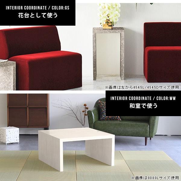フリーラック フリーテーブル ローテーブル 鏡面 黒 ブラック ディスプレイ おしゃれ 日本製 シンプル arne-sofa 03