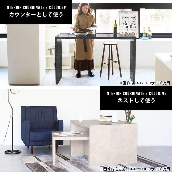 フリーラック フリーテーブル ローテーブル 鏡面 黒 ブラック ディスプレイ おしゃれ 日本製 シンプル arne-sofa 04