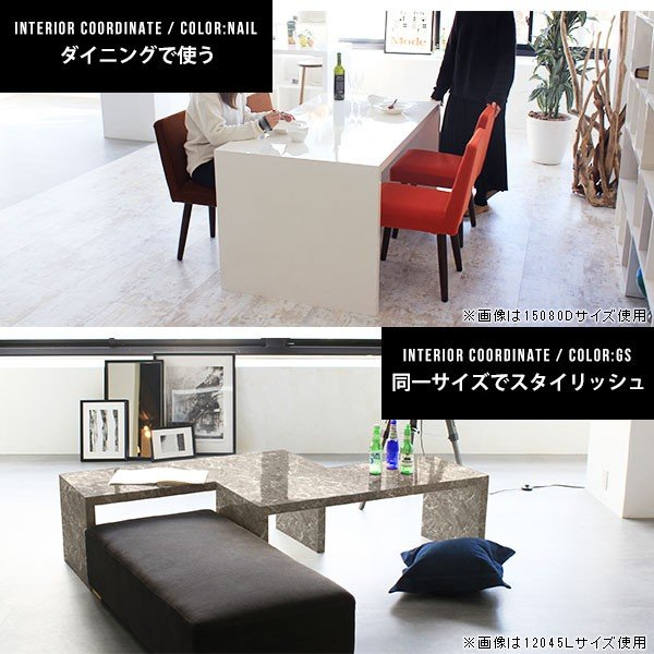 フリーラック フリーテーブル ローテーブル 鏡面 黒 ブラック ディスプレイ おしゃれ 日本製 シンプル arne-sofa 05