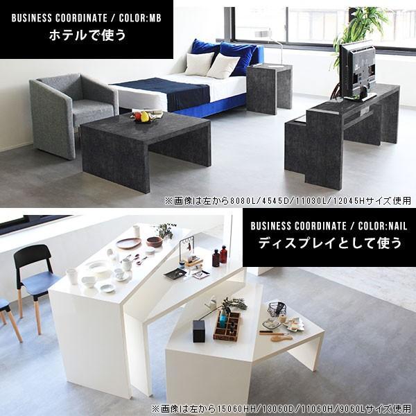フリーラック フリーテーブル ローテーブル 鏡面 黒 ブラック ディスプレイ おしゃれ 日本製 シンプル arne-sofa 07