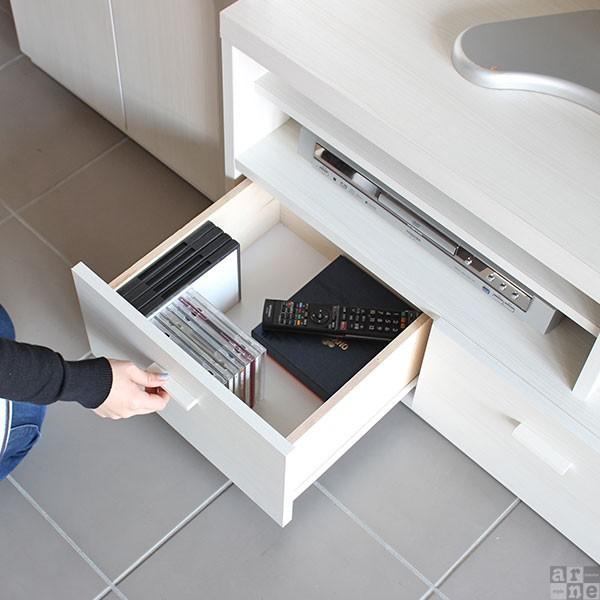 テレビ台 壁面 収納 完成品 ハイタイプ 120 おしゃれ 北欧 大型 テレビボード シンプル ID-120TV|arne|04