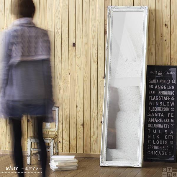スタンドミラー アンティーク ゴールド 鏡 ミラー 全身 幅40 全身鏡 全身ミラー 姫系 姿見 amm|arne|04