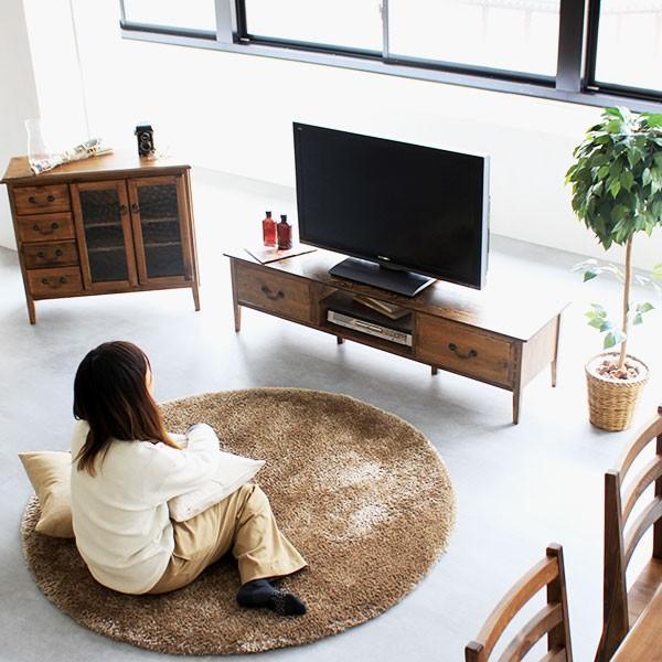 テレビ台 テレビボード TV台 TVボード 完成品 アンティーク ローボード 背面化粧 150 安い おしゃれ 収納付き 60インチ対応 55インチ対応 50インチ 50v|arne|08