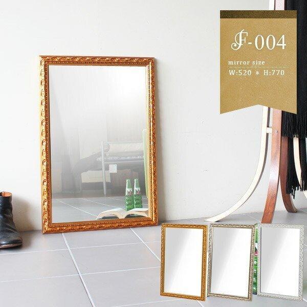 鏡 壁掛け おしゃれ アンティーク ミラー ホワイト 壁掛けミラー ウォールミラー 玄関 姿見 幅52cm 高さ77cm F-004WM4570|arne