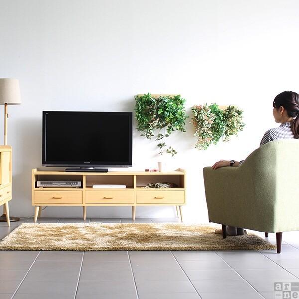 テレビ台150cm幅 白 アンティーク 高さ40以上 脚付き 50インチ おしゃれ 北欧 テレビボード 完成品|arne|07