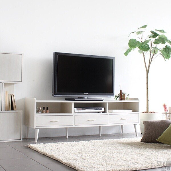 テレビ台150cm幅 白 アンティーク 高さ40以上 脚付き 50インチ おしゃれ 北欧 テレビボード 完成品|arne|09