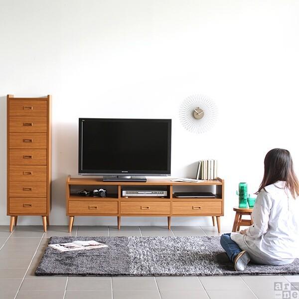 テレビ台150cm幅 白 アンティーク 高さ40以上 脚付き 50インチ おしゃれ 北欧 テレビボード 完成品|arne|10