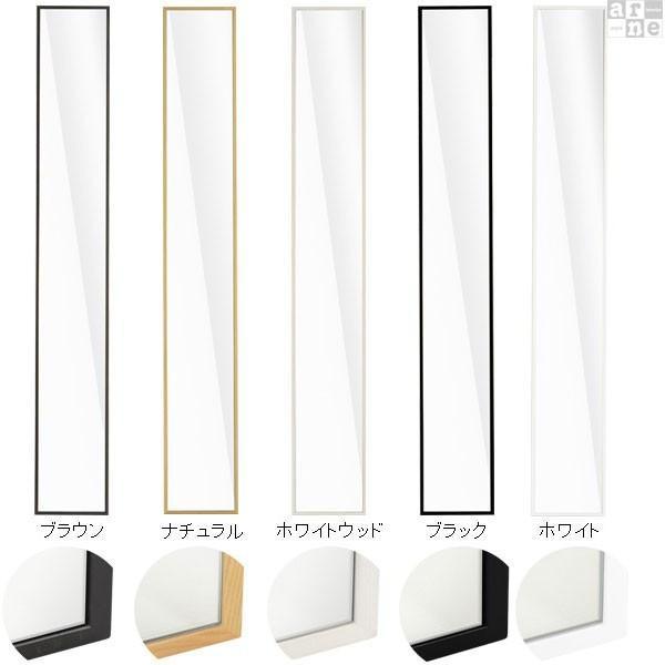 ウォールミラー 軽量 150 スリム 壁掛けミラー おしゃれ 全身 ミラー 姿見 鏡 全身鏡 壁掛け 白 ホワイト WM2215|arne|02