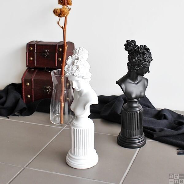 オブジェ インテリア 置物 オシャレ 置き物 女神像 モダン 玄関 飾り B 女性 モダン 飾り|arne|06
