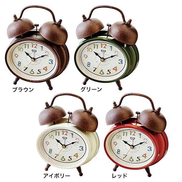 置時計 おしゃれ 北欧 アンティーク レトロ 時計 置時計 インテリア CL-9363 Rheyot テーブルクロック|arne|02