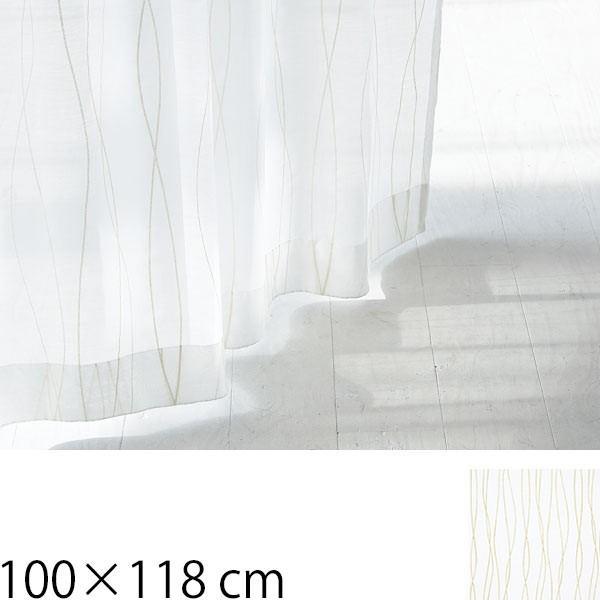 レースカーテン タッセル 北欧 幅100 Rio 100×118cm 2枚入り|arne