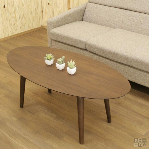 ローテーブル ウォールナット カフェテーブル 丸 テーブル 天然木 おしゃれ 北欧 木製 日本製 Bistro|arne|03