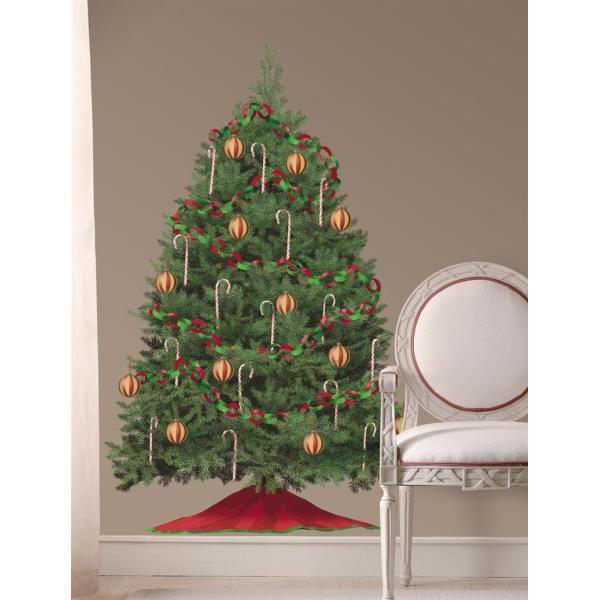 貼ってはがせるウォールステッカー ルームメイツ ビルド ア クリスマスツリー