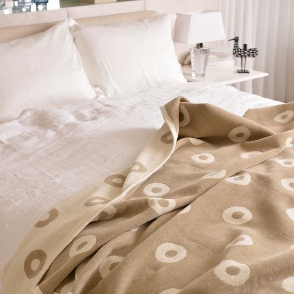 RoomClip商品情報 - 送料無料 北欧スウェーデン KLIPPAN クリッパン シュニールコットンブランケット シングルサイズ リングス ライトグレー