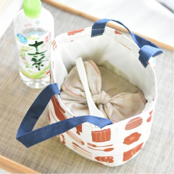 保冷ランチバッグ おしゃれ 保冷バッグ クーラーバッグ お弁当入れ|aromaroom|04
