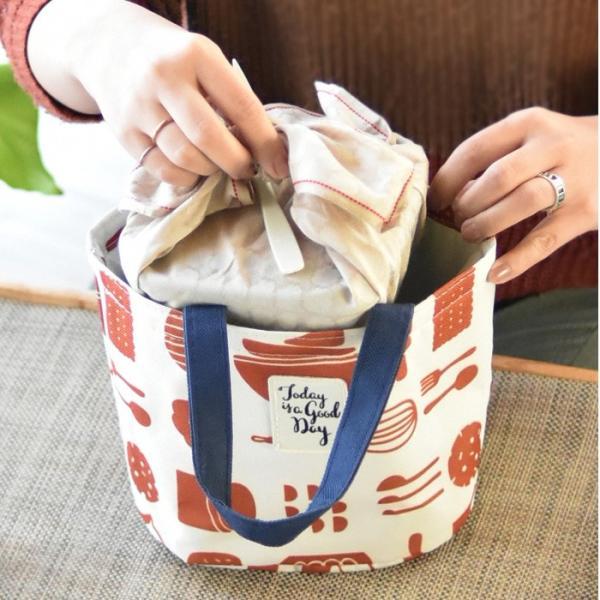 保冷ランチバッグ おしゃれ 保冷バッグ クーラーバッグ お弁当入れ|aromaroom|08
