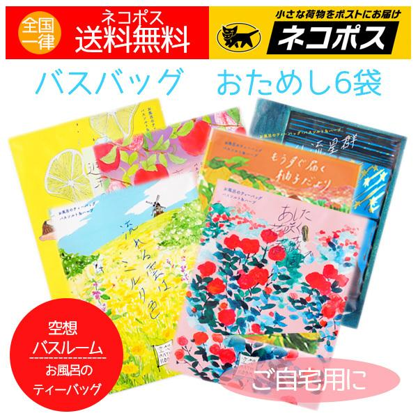 入浴剤 バスバッグ 空想バスルーム 6袋 日本製