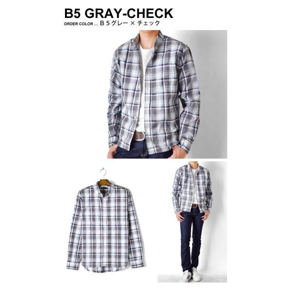 シャツ メンズ チェック柄 長袖 シャツ セール 送料無料 通販M《M1.5》|aronacasual|11