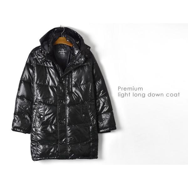 66a450420050a ... 超軽量ダウンコート 軽くて暖かい ロングダウンコート ベンチコート メンズ ビジネス ダウンロング ...