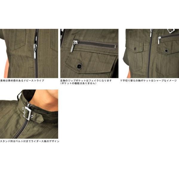 ミリタリージャケット シャツ 半袖 送料無料 サマージャケット メンズ 通販Y|aronacasual|13