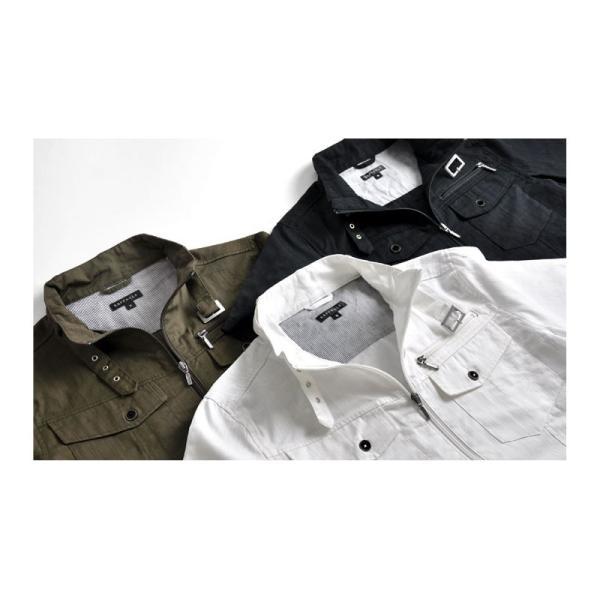 ミリタリージャケット シャツ 半袖 送料無料 サマージャケット メンズ 通販Y|aronacasual|07