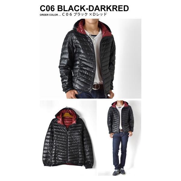 超軽量ダウンジャケット 驚くほど軽くて暖か パーカー 冬 防寒 ブルゾン 中綿コート メンズ 高級羽毛 通販 送料無料|aronacasual|13