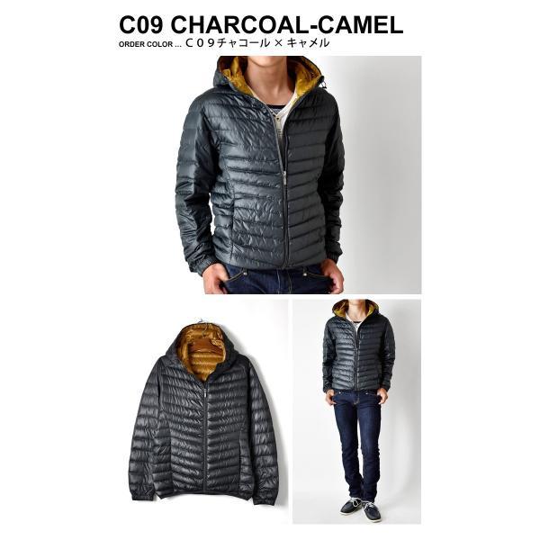 超軽量ダウンジャケット 驚くほど軽くて暖か パーカー 冬 防寒 ブルゾン 中綿コート メンズ 高級羽毛 通販 送料無料|aronacasual|14