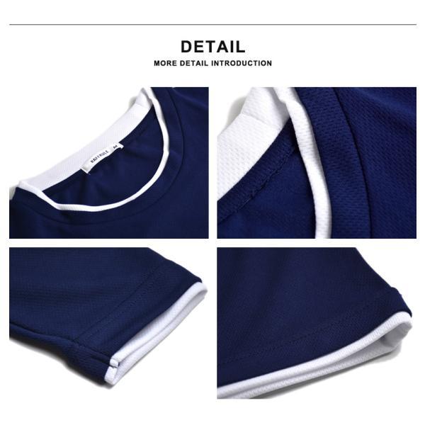 ドライ 伸縮 ストレッチ 吸汗速乾 長袖Tシャツ ロングTシャツ メンズ セール 送料無料 通販M《M1.5》|aronacasual|11