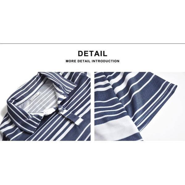 DRYストレッチ 吸汗速乾 ポロシャツ メンズ 送料無料 通販M《M1.5》|aronacasual|16