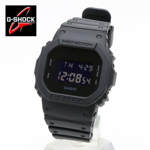 6a5880fa93 CASIO G-SHOCK メンズ 腕時計 カシオ ジーショック オールブラック DW-5600BB-1 ...