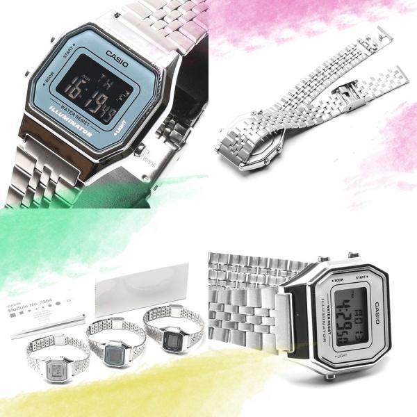 CASIO (カシオ)  選べる3色 ミニサイズ デジタル 時計 女性用 腕時計 LA680WA LA-680WA レディース・キッズ ウォッチ around 03