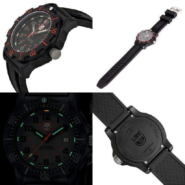 LUMINOX ルミノックス 腕時計 8815 ブラックOPSカーボン|around|02