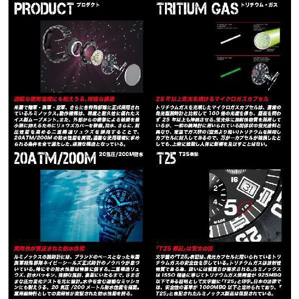 メール便送料無料 LUMINOX ルミノックス 腕時計用 正規品 純正 交換バンド FP.3050.20 ベルト幅23mm 適合モデル:3051 3081 3151 ほか|around|05