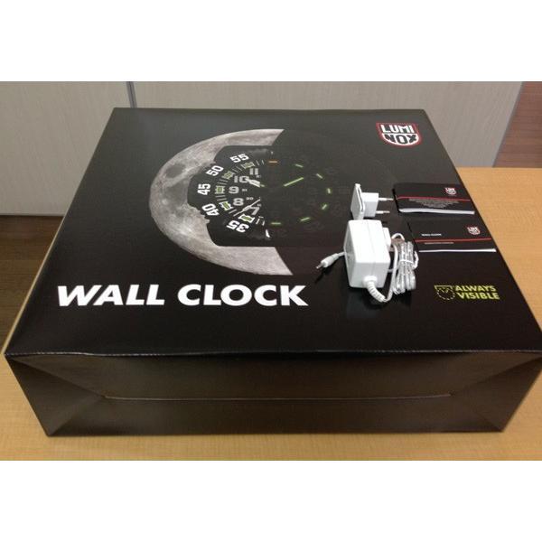 LUNINOX ルミノックス BIG40 Wall Clock ウォールクロック 掛け時計 BIG.40 壁掛け時計 大型 静音 LED 激レア|around|04
