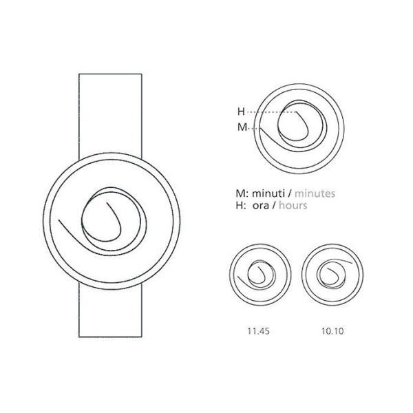 NAVA DESIGN(ナバデザイン)ORA UNICA(オラウニカ)O405 36MM ボーイズサイズ デザイナーズウォッチ ナヴァデザイン アナログウォッチ 曲線|around|04