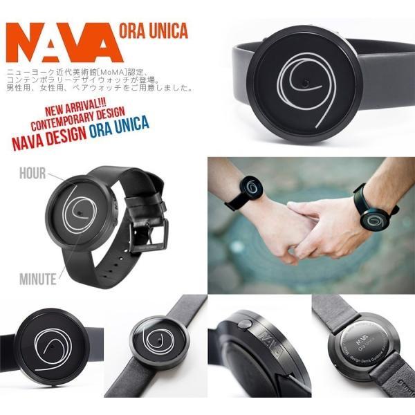 NAVA DESIGN(ナバデザイン)ORA UNICA(オラウニカ)O405 36MM ボーイズサイズ デザイナーズウォッチ ナヴァデザイン アナログウォッチ 曲線|around|05