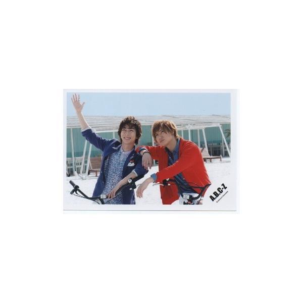 橋本良亮&河合郁人(A.B.C-Z)公式生写真/Early summer concert 2015・橋本衣装赤・自転車|arraysbook