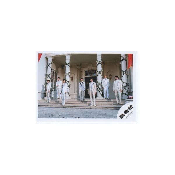 Kis-My-Ft2/キスマイ 集合 公式生写真/君のいる世界・衣装白・全身|arraysbook