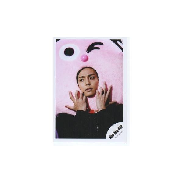 藤ヶ谷太輔(Kis-My-Ft2/キスマイ) 公式生写真/MUSIC COLOSSEUM・衣装黒・被り物・目線若干左|arraysbook