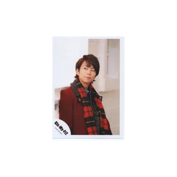 北山宏光(Kis-My-Ft2/キスマイ) 公式生写真/SNOW DOMEの約束・衣装赤×黒・目線左・口閉じ arraysbook
