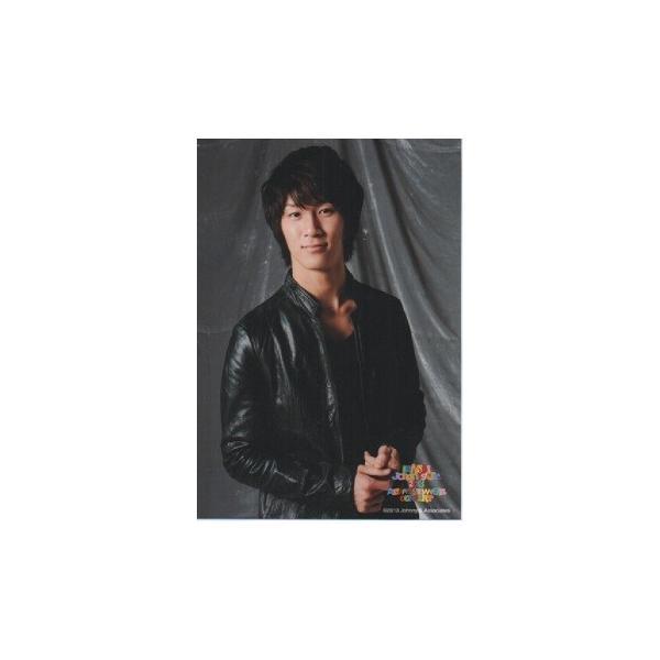 濱田崇裕(ジャニーズWEST) 公式生写真/KANSAI Johnny's Jr.2013 A HAPPY NEW YEAR CONCERT・衣装黒・口閉じ・カメラ目線|arraysbook