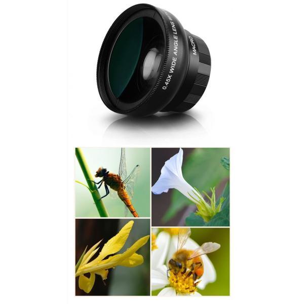 カメラレンズキット スマートフォン タブレットPC用 arsion 04