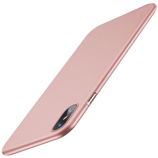 iPhone X ケース 薄型 PC 全面保護 Qi ワイヤレス充電 対応 耐衝撃カバー ガラスフィルム付属|arsion