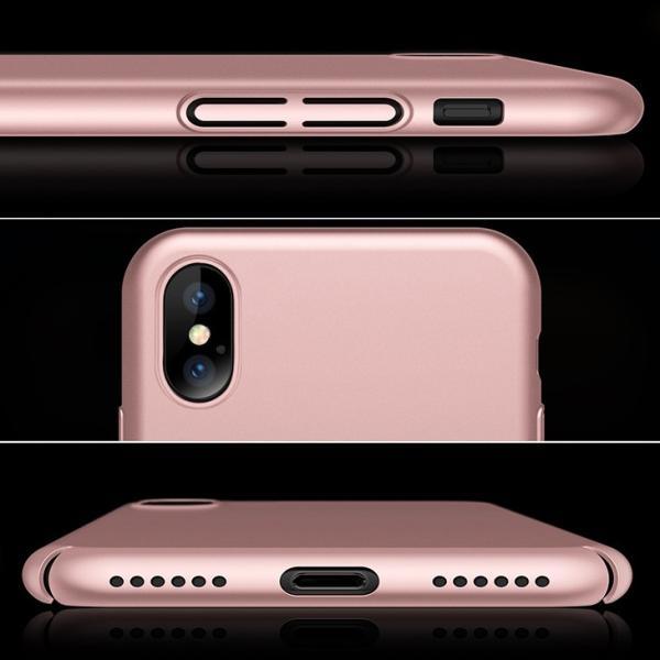 iPhone X ケース 薄型 PC 全面保護 Qi ワイヤレス充電 対応 耐衝撃カバー ガラスフィルム付属|arsion|03