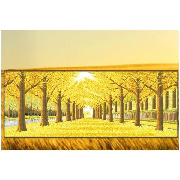 クロスステッチ 刺繍 キット 紅葉の秋 図柄印刷 樹 木 花 植物 図案 居間 リビング 飾り 雰囲気一新 指ぬき 糸通し付き|arsion|10