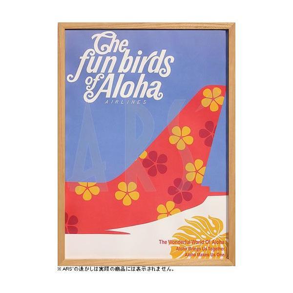 RoomClip商品情報 - ミッドセンチュリーアート/アロハ・エアラインズ The fun birds of aloha(インテリアアート/アートポスター/ミッドセンチュリーポスター)