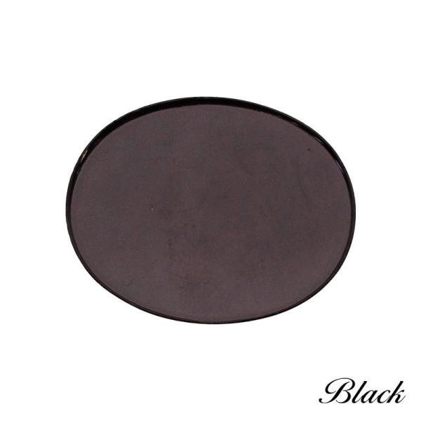 ブローチ コサージュ 楕円 10個 パーツ アクセサリー アクセ 自作 オリジナル ハンドメイド 装飾 カラワク 空枠 40mm×50mm