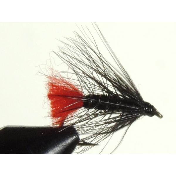 ウエットフライ(wet fly) ブラック・ズールー 激安 フライフィッシング 渓流 完成フライ 管理釣り場