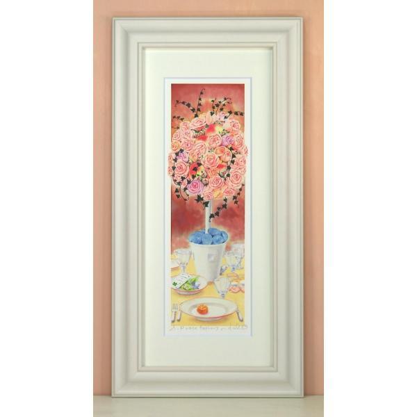 栗乃木ハルミ(くりのきはるみ)・rose topiary絵画・版画