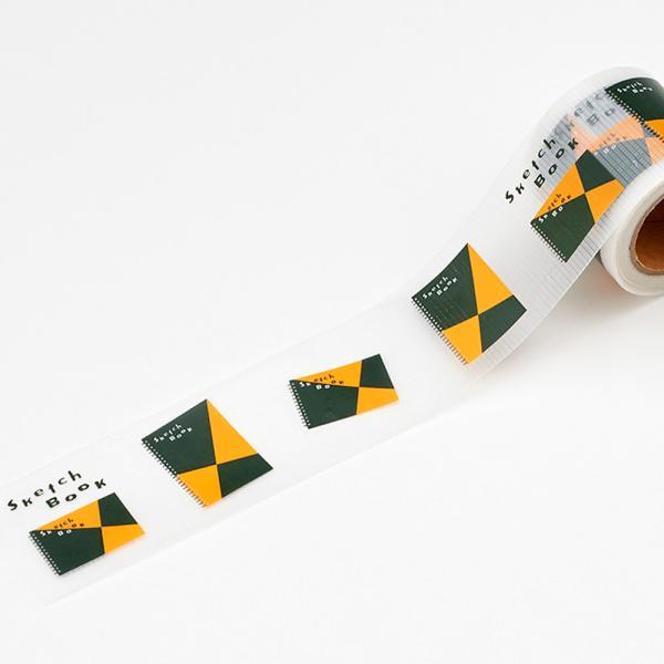 養生テープ 100周年 記念 限定 YOJO TAPE 図案スケッチブック柄 100YJ1 マルマン (宅配便のみ)